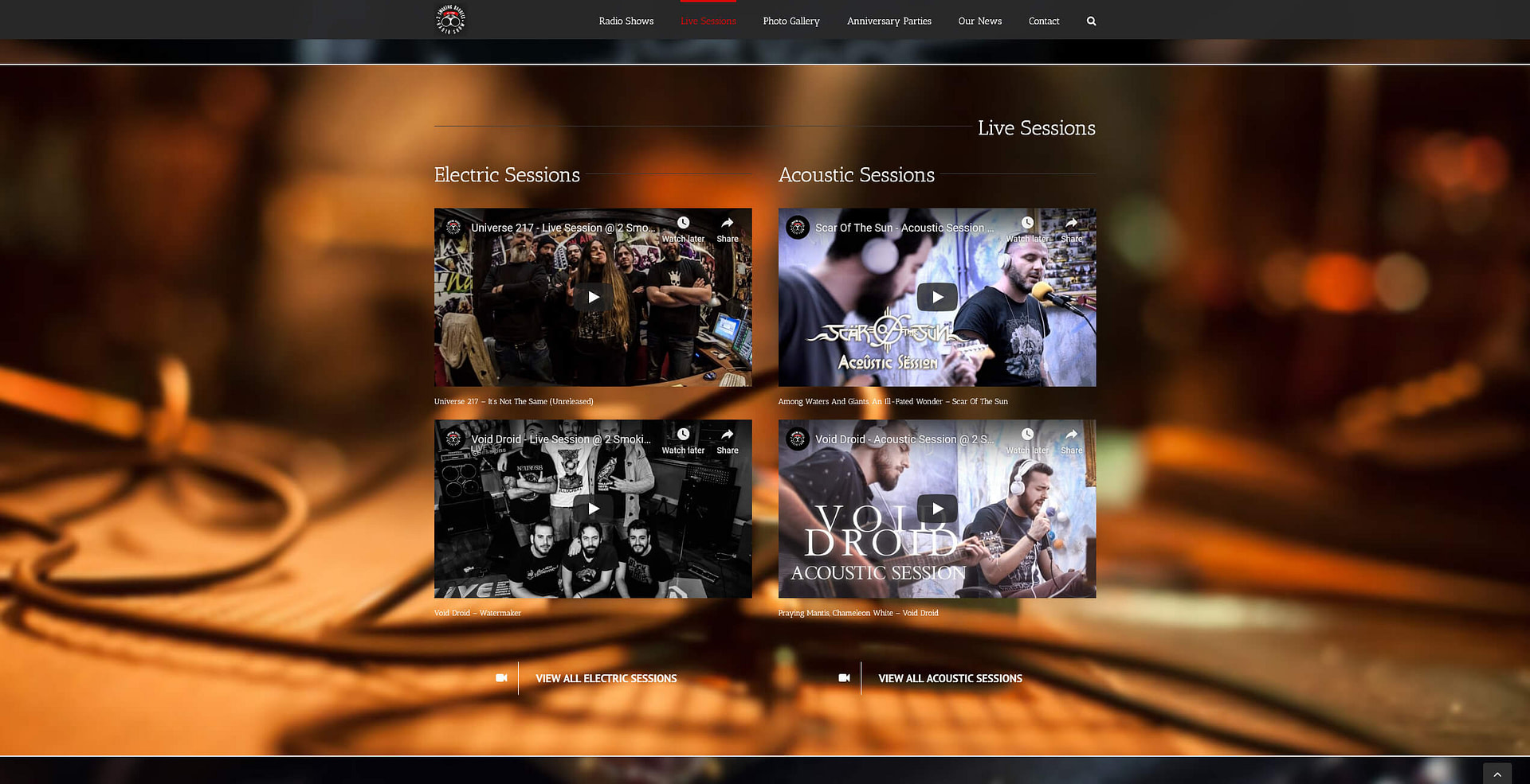 2 Smoking Barrels - TMY WEB Development