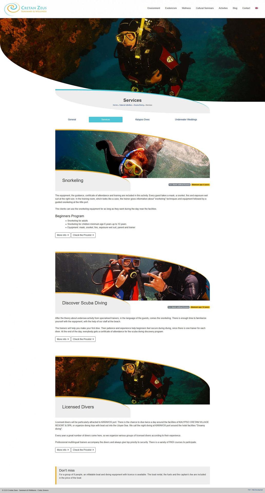 CretanZeus - TMY WEB Development