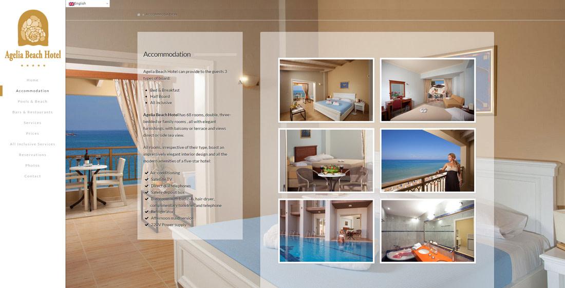 Agelia Beach Hotel - TMY WEB Development