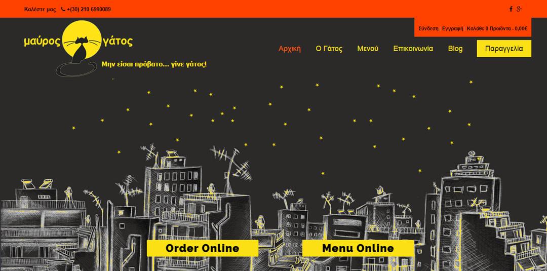 Mavros Gatos - TMY WEB Development