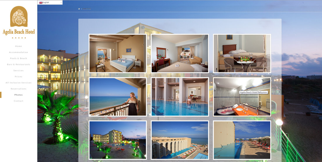 Agelia Beach Hotel - TMY WEB Development